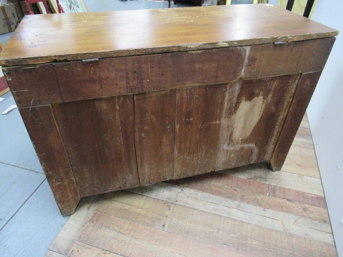 Antique Pine Storage Chest - 8