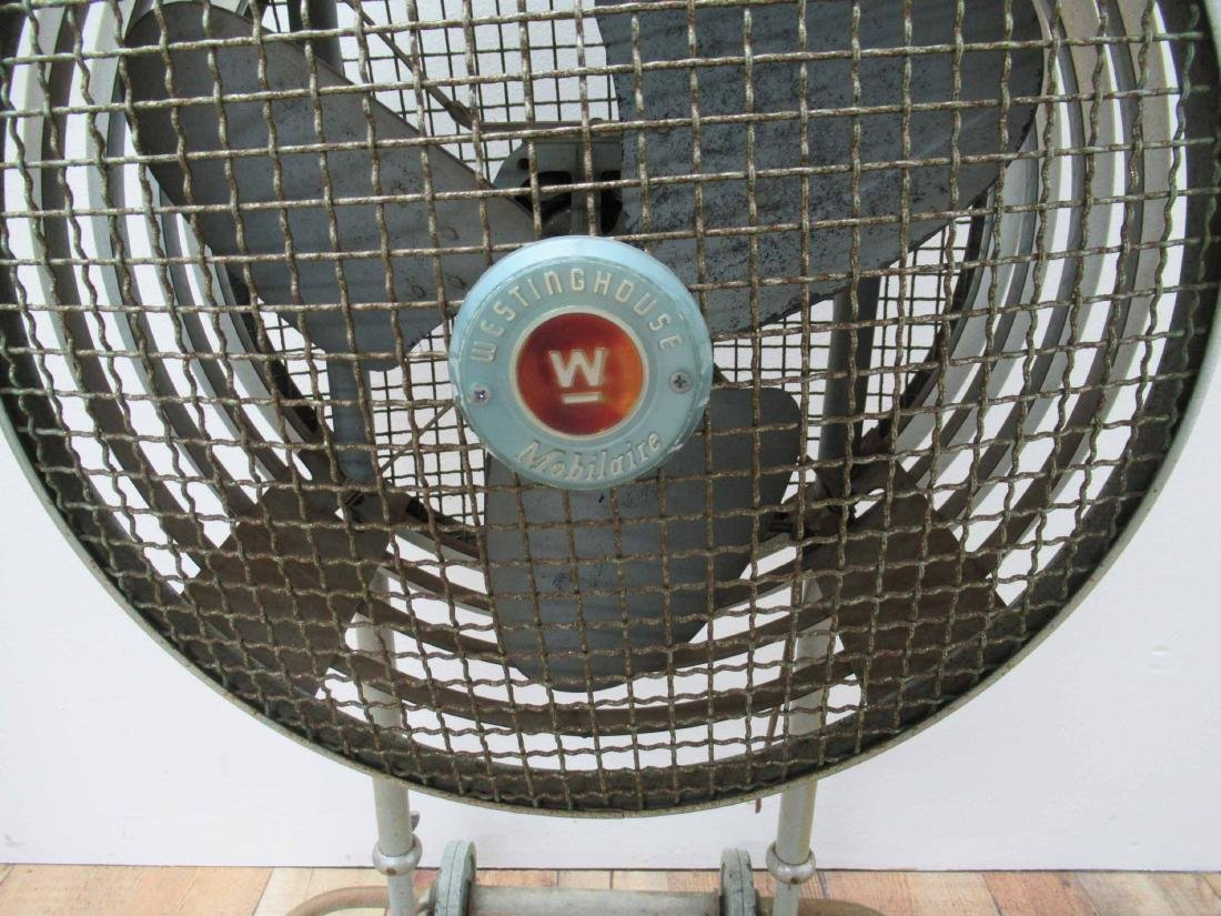 Vintage Westinghouse Mobile Air Fan - 2