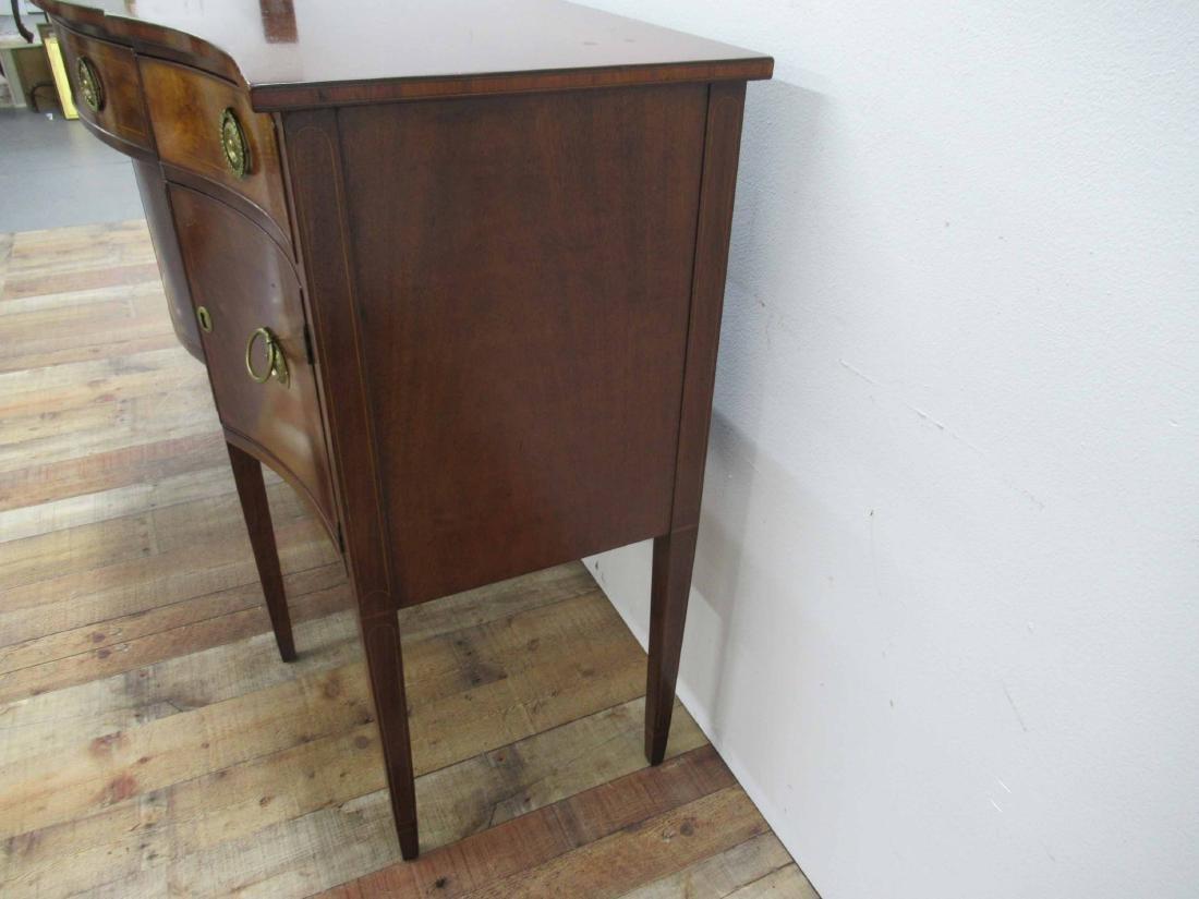 Federal Style Mahogany Sideboard - 5