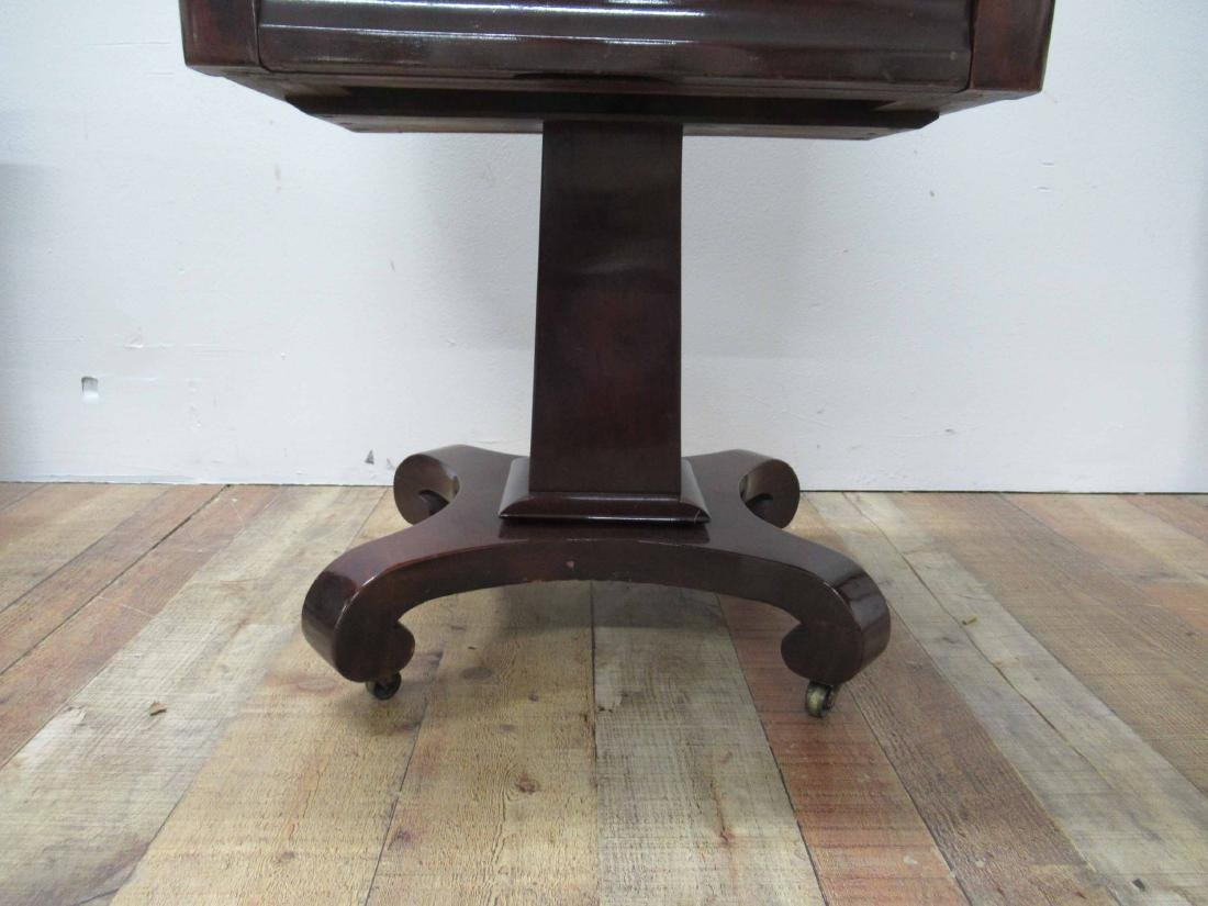 Empire Mahogany Two Drawer Sewing Stand - 3