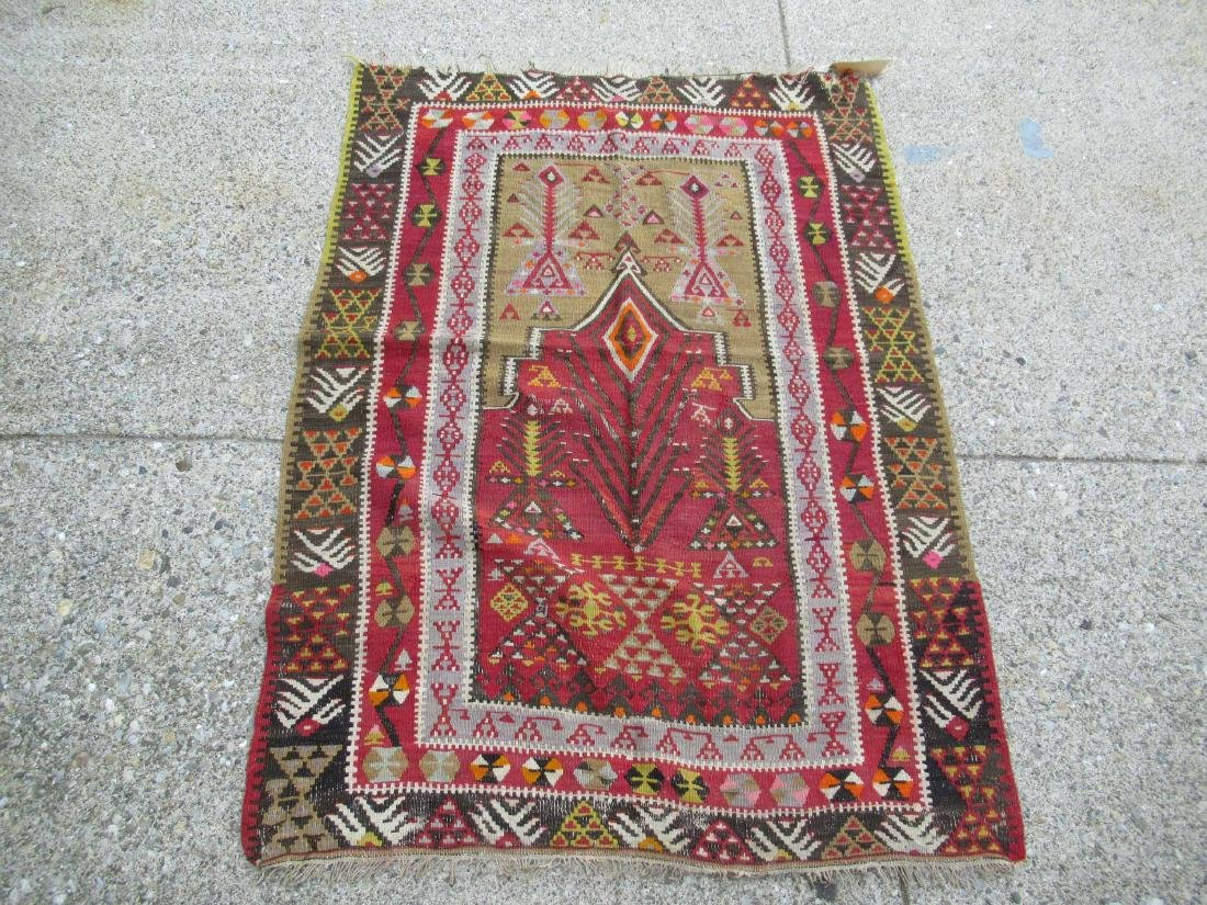 WOOL PRAYER RUG