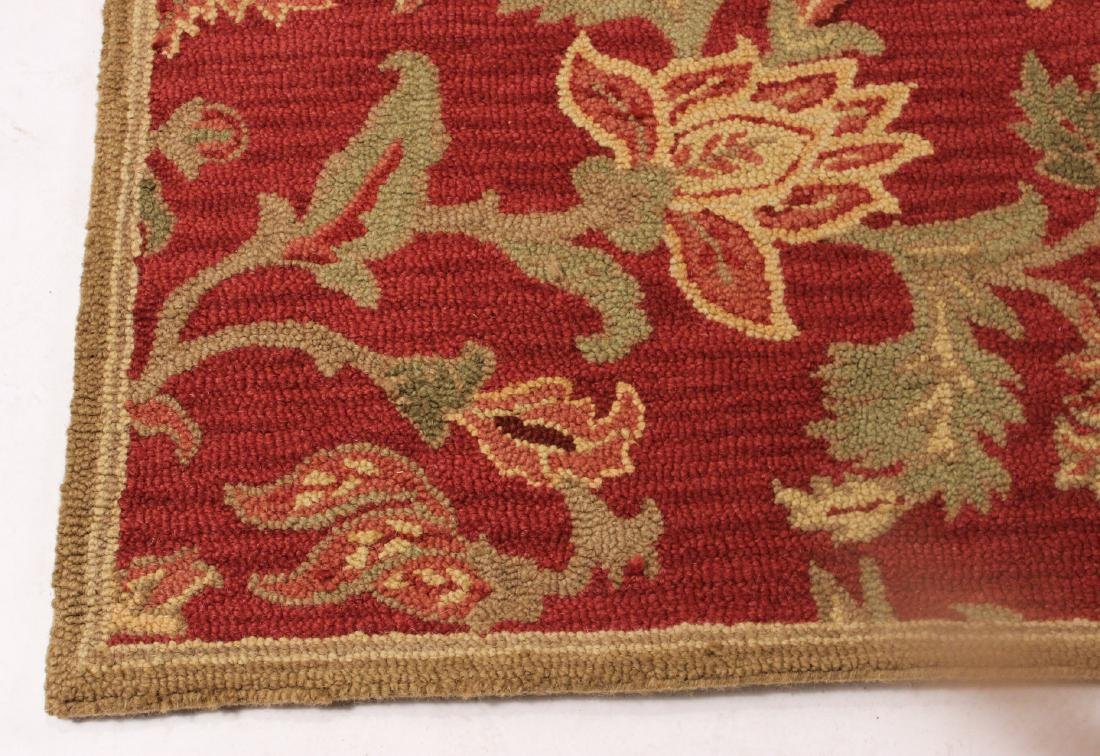 Modern Floral Decorated Pottery Barn Rug - 2
