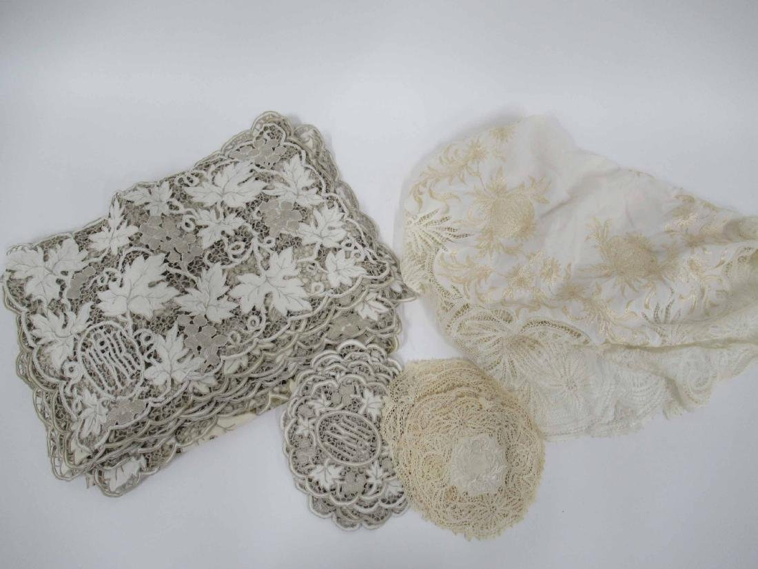 Group of Assorted Table Linens - 4