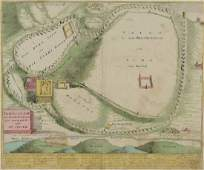 1720 Map of Jerusalem, Christoph Weigel