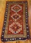 Caucasian Kazak Wool Rug