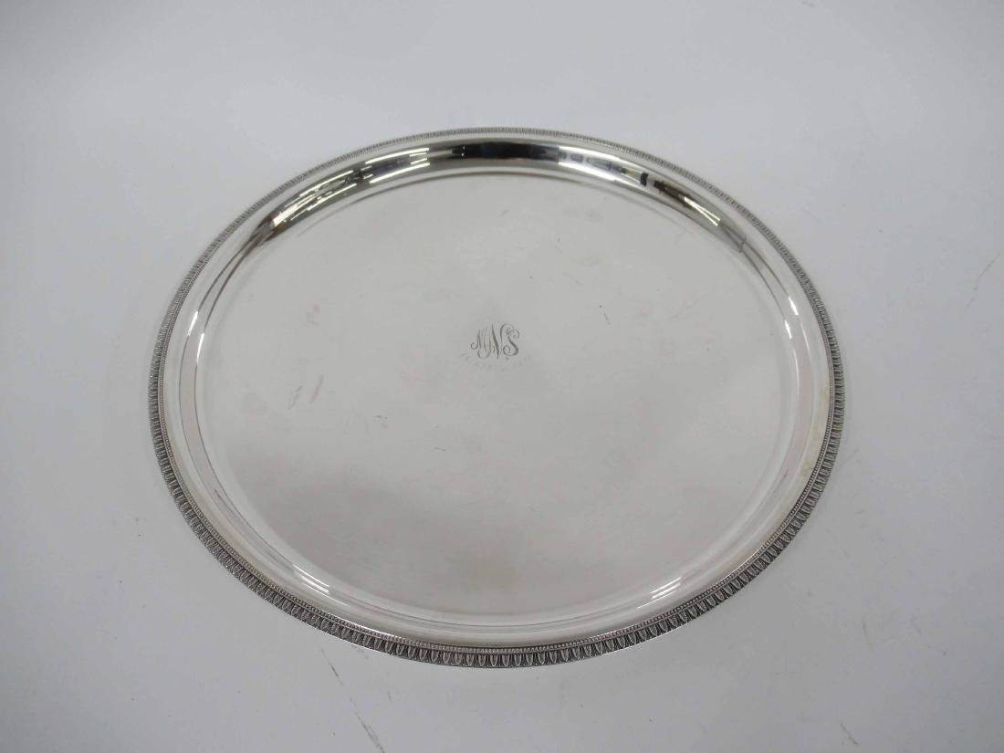 Christofle Silver Plated Serving Tray