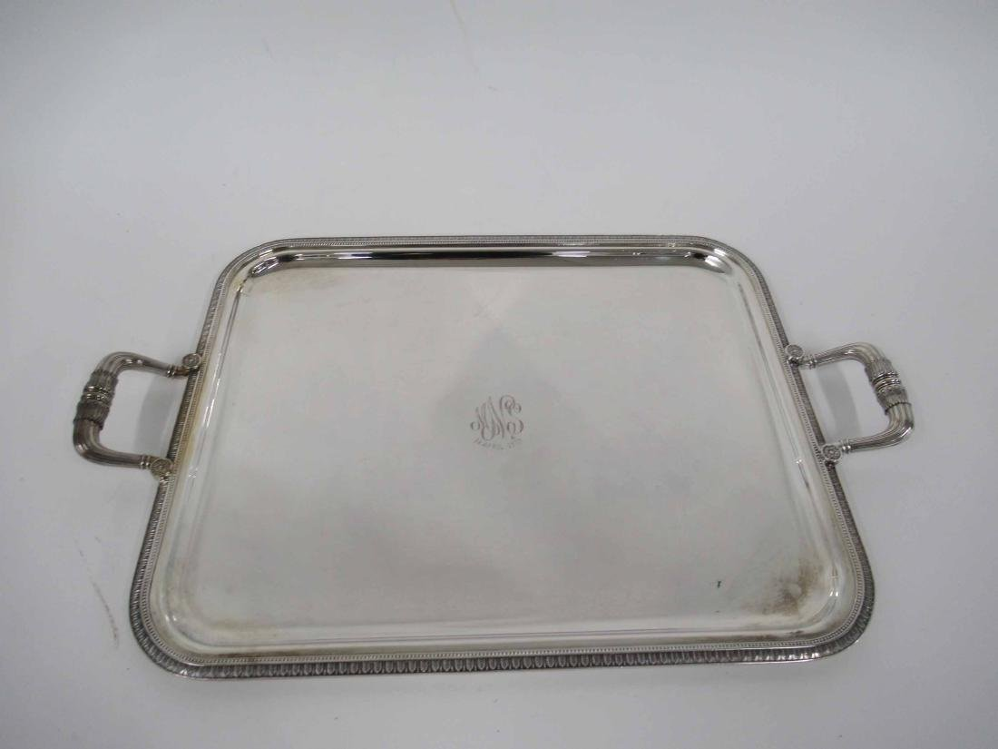 Christofle Double Handled Serving Tray
