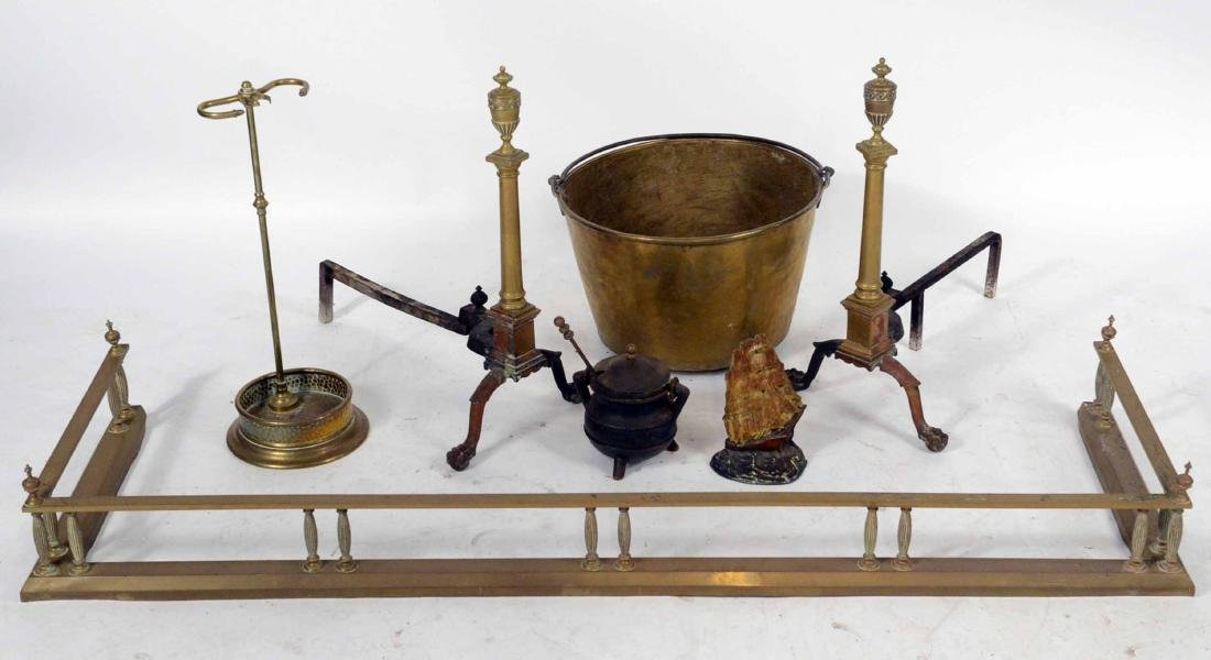Group of Fireplace Equipment