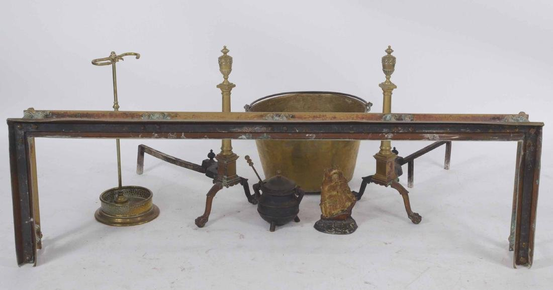 Group of Fireplace Equipment - 4