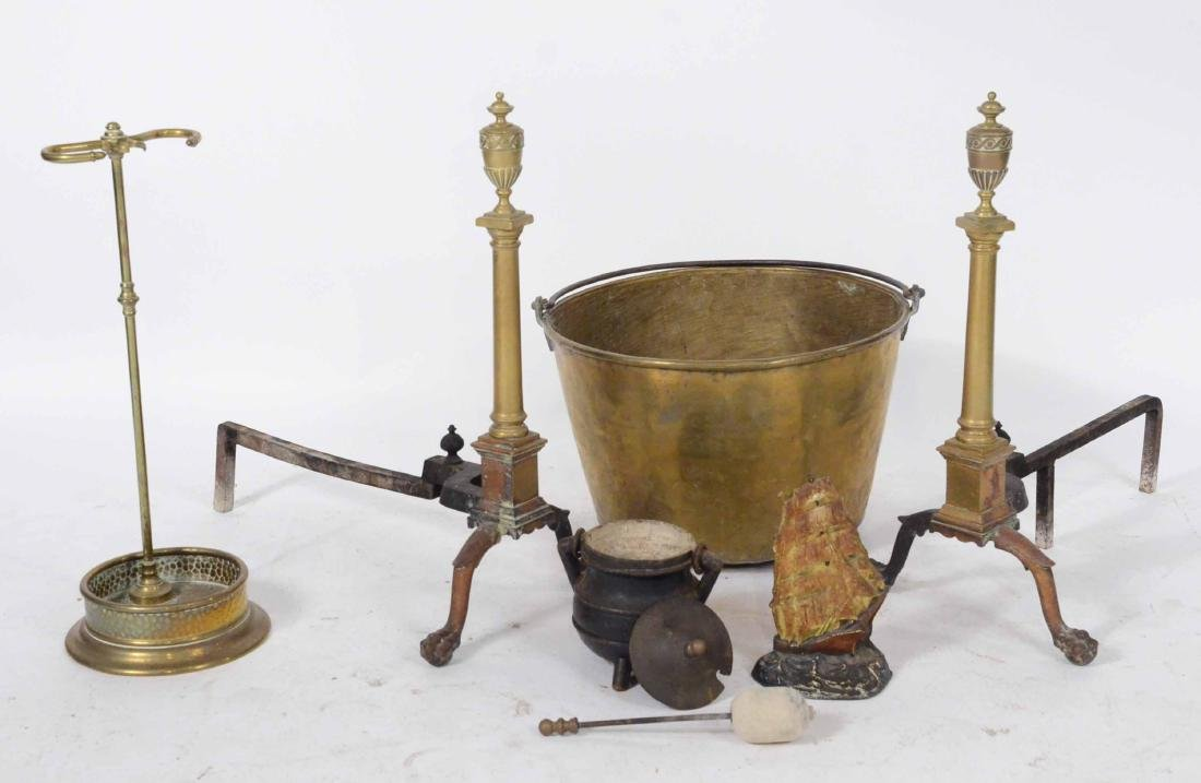 Group of Fireplace Equipment - 6