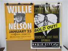 Radio City Music hall & Beacon Concert Posters