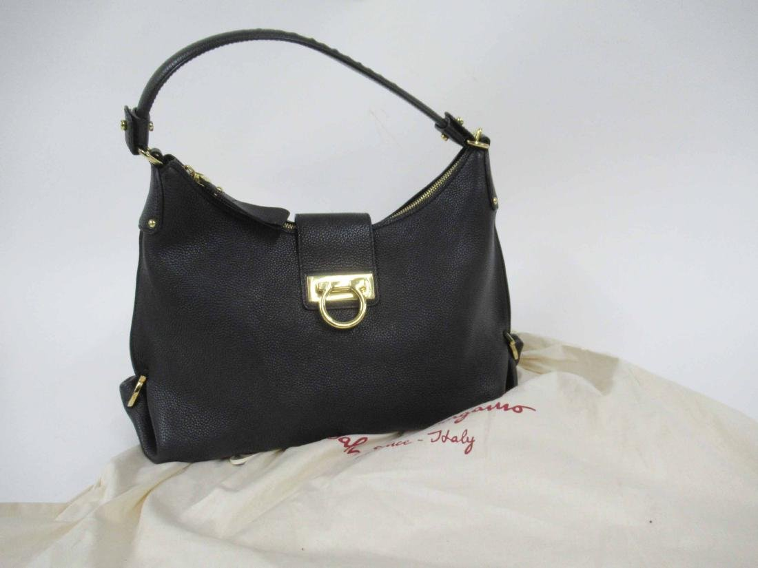 Salvatore Feragamo Leather Handbag