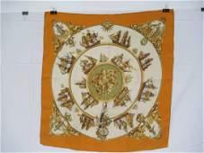 Three Hermes Scarves