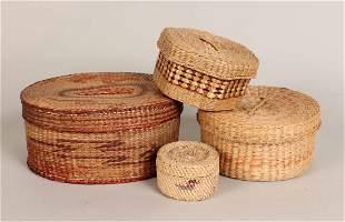One Makah Native American Basket
