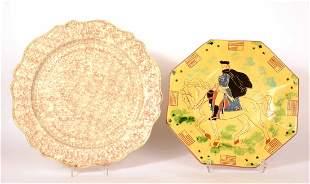 Whieldon Circular Platter