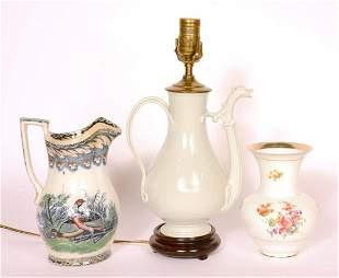 Chinese Blanc de Chine Porcelain Ewer