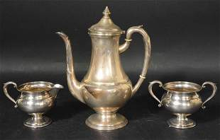 MueckCary Sterling Silver Coffee Pot