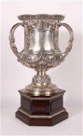 Gorham Engraved Sterling Silver Presentation Trophy