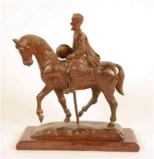 Folk Art Carving of Stonewall Jackson