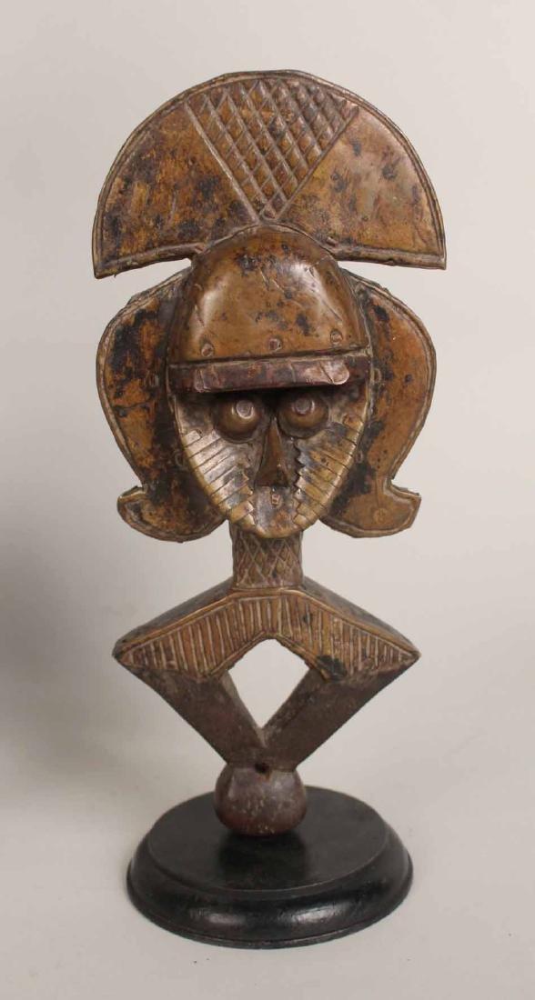 Three Wood African Figures - 2