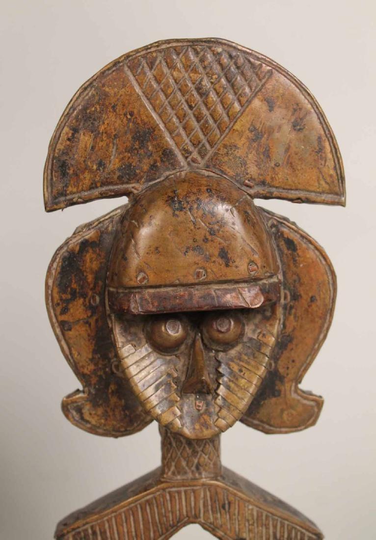 Three Wood African Figures - 3