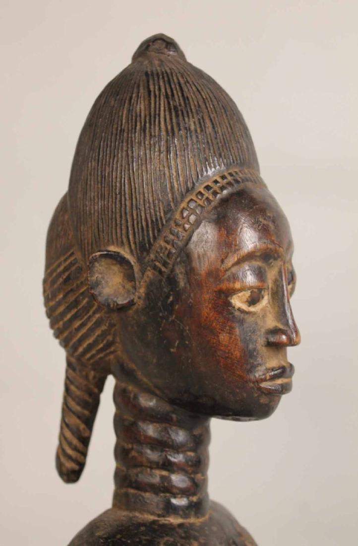 Three Wood African Figures - 5