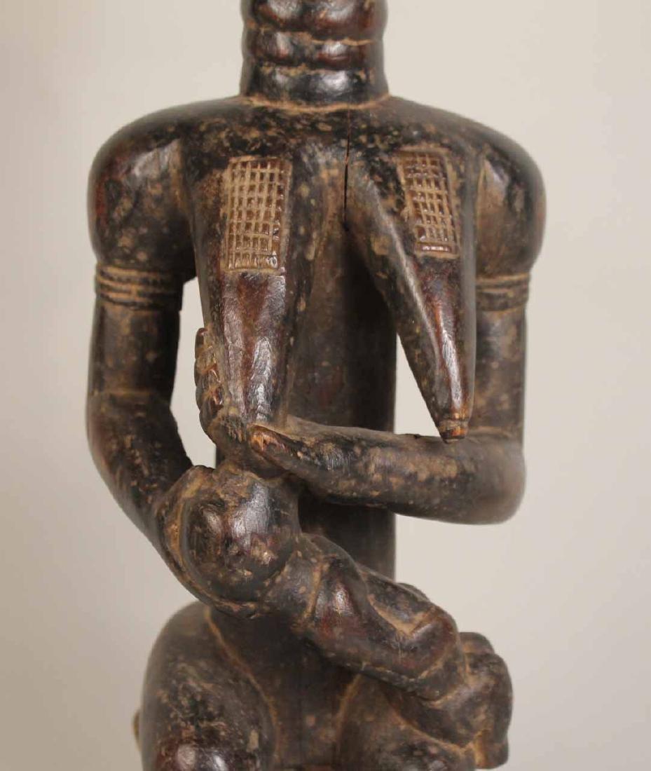 Three Wood African Figures - 6