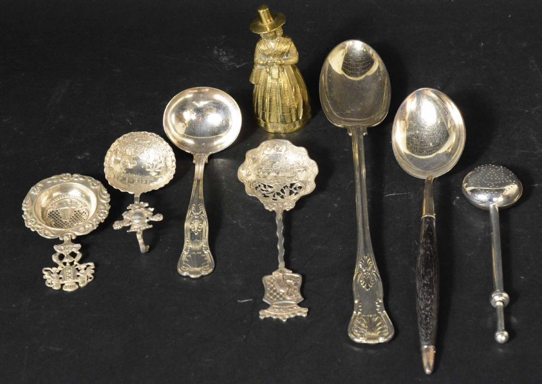 Three Dutch Silver Spoons