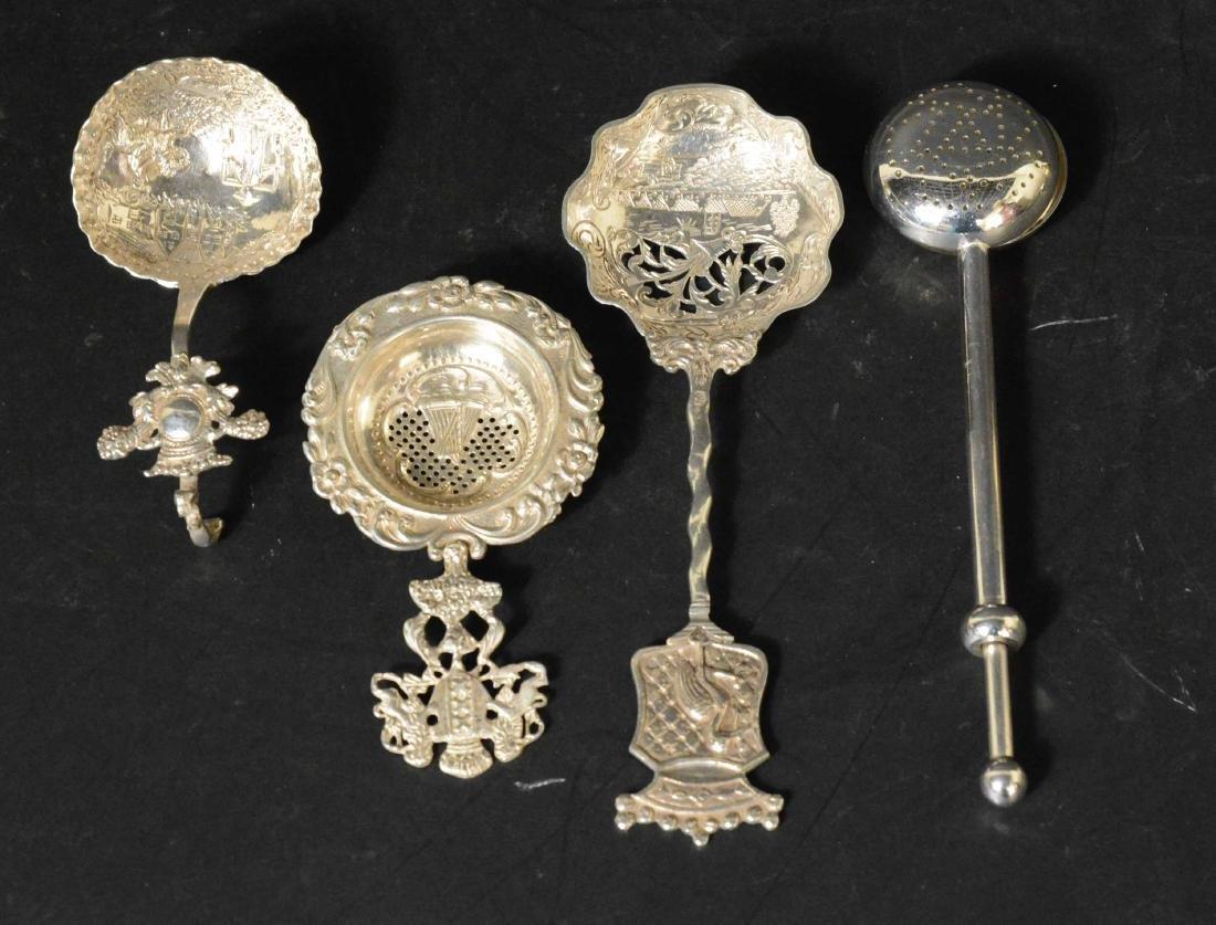 Three Dutch Silver Spoons - 2