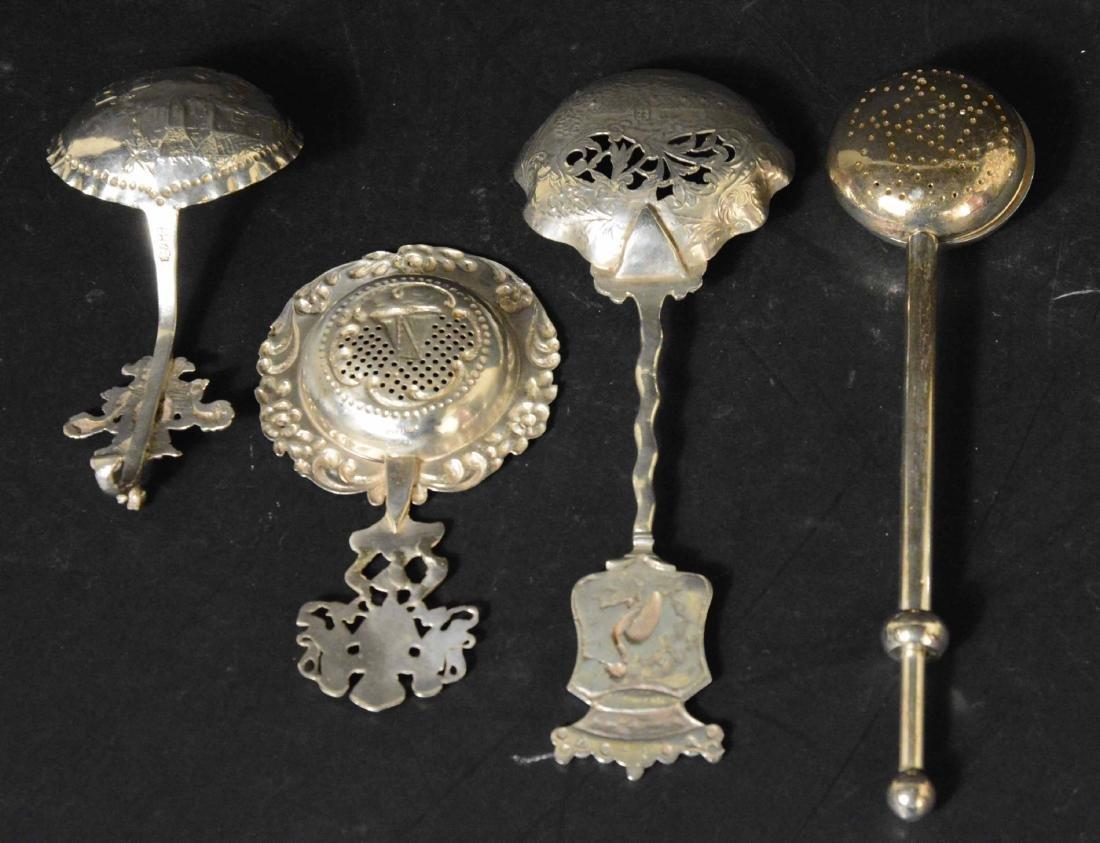 Three Dutch Silver Spoons - 3