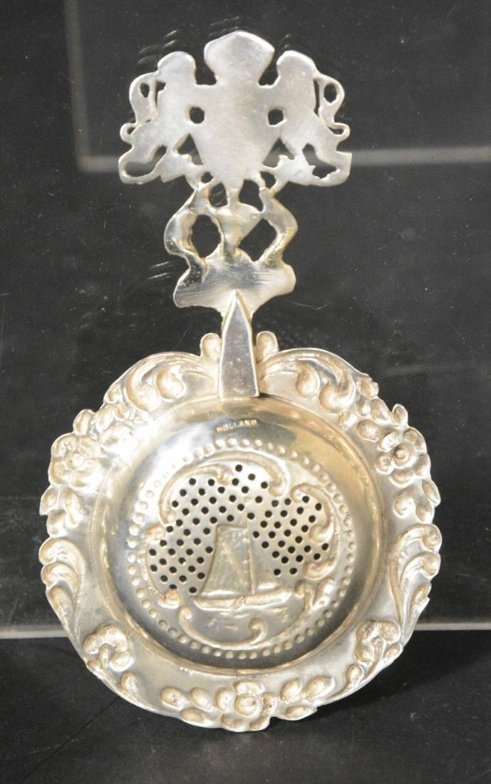 Three Dutch Silver Spoons - 4