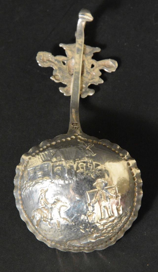 Three Dutch Silver Spoons - 5