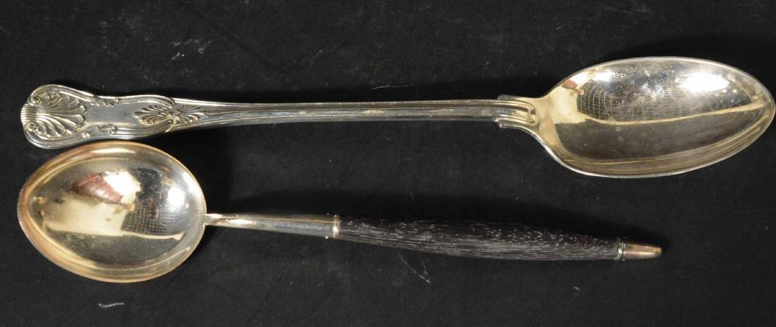 Three Dutch Silver Spoons - 9