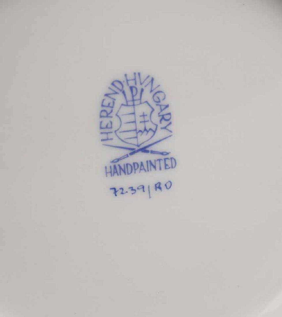 Two Herend Porcelain Rothschild Articles - 9