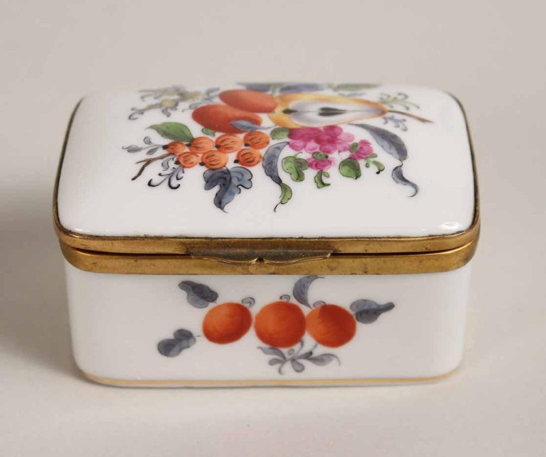 Group of Porcelain and Enamel Boxes - 4
