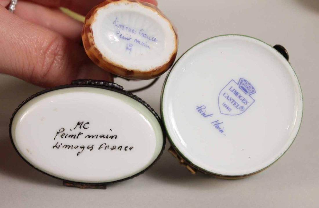 Group of Porcelain and Enamel Boxes - 7
