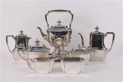 Tiffany and Co. Sterling Silver Tea Service