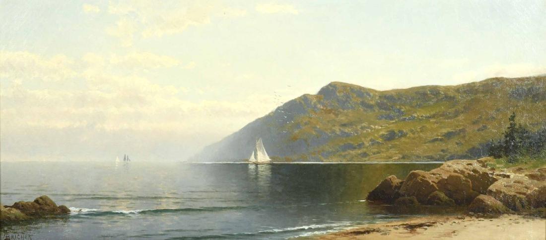 Oil on Canvas, Coastline, Alfred T. Bricher - 10