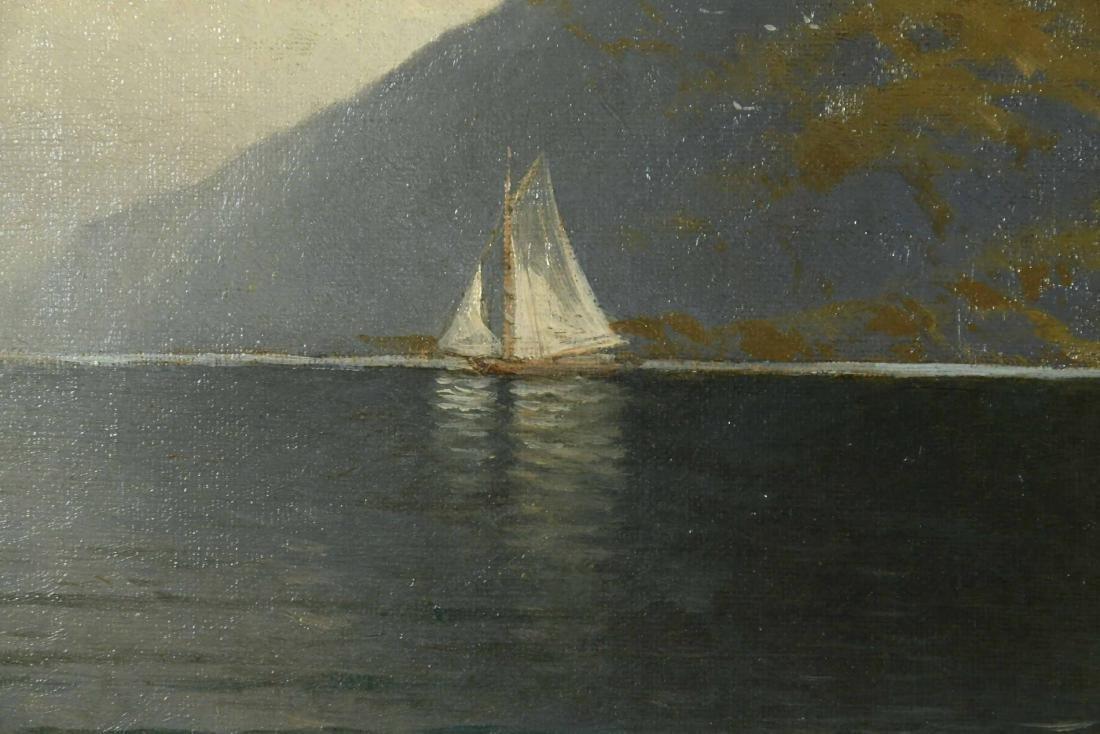 Oil on Canvas, Coastline, Alfred T. Bricher - 3
