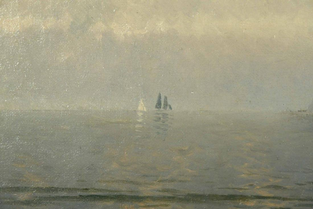 Oil on Canvas, Coastline, Alfred T. Bricher - 5