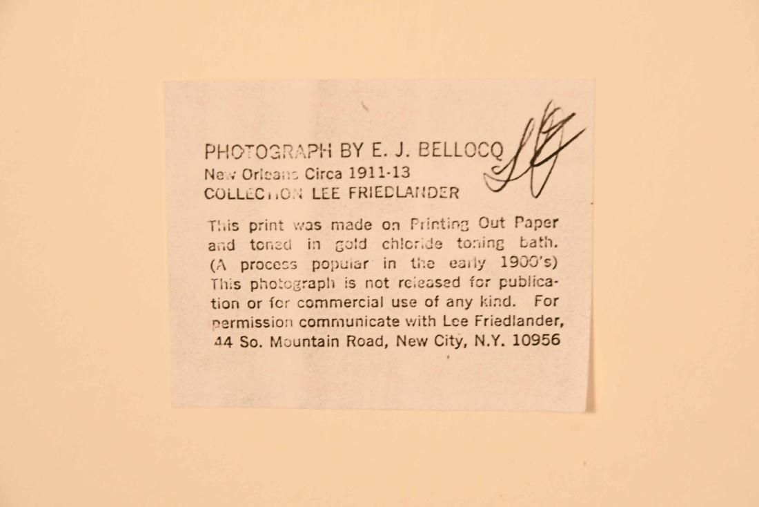Photograph, Storyville Portrait, Ernest J. Bellocq - 5