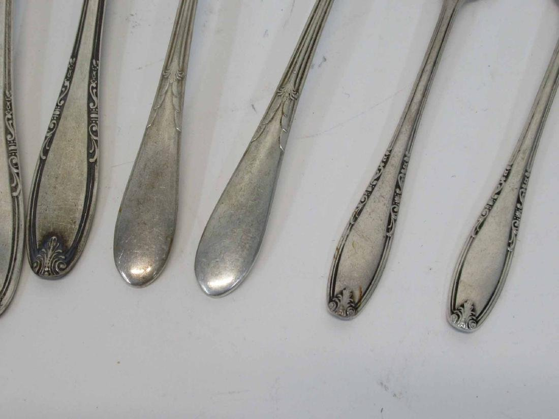 Group of Assorted Sterling Silver Flatware - 3