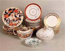 Seven Chinese Imari Porcelain Plates