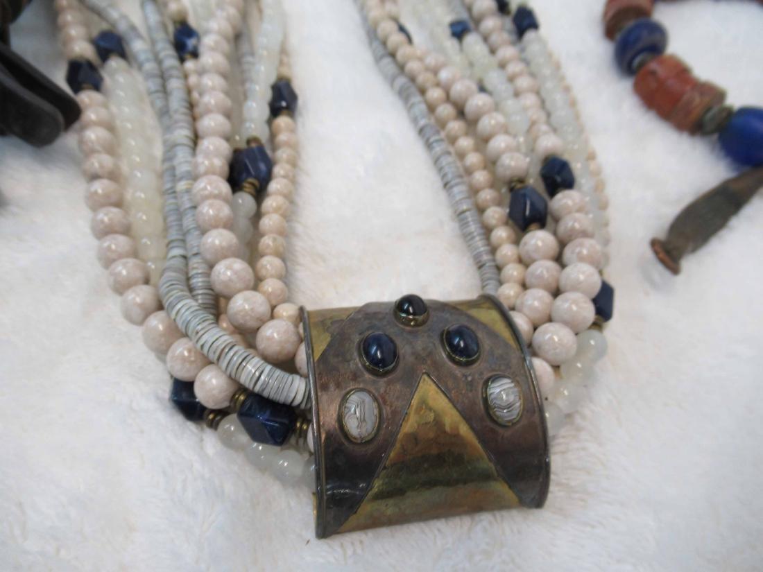 Three Studio Beaded Necklaces - 2