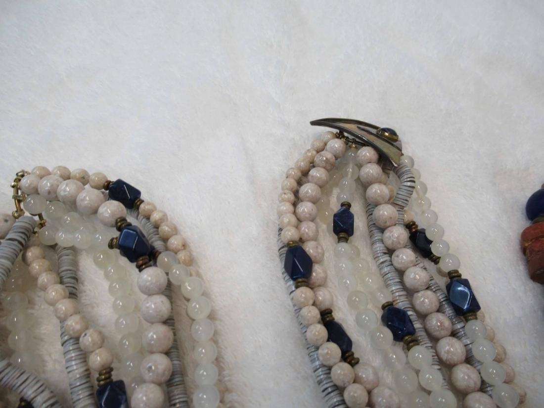 Three Studio Beaded Necklaces - 3