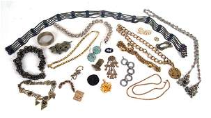 Large Group Metal Jewelry Items
