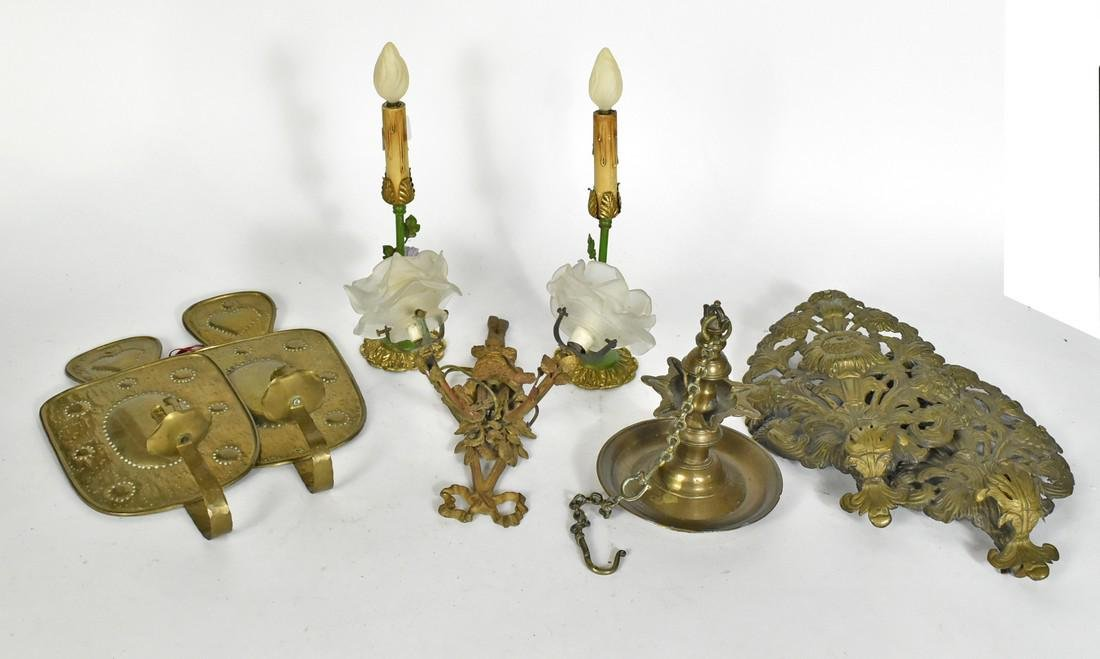 Group of Brass Articles