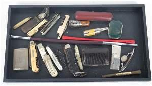 Group of Pocket Knives
