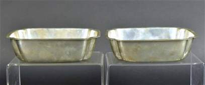 Pair of Randahl Sterling Silver Bowls