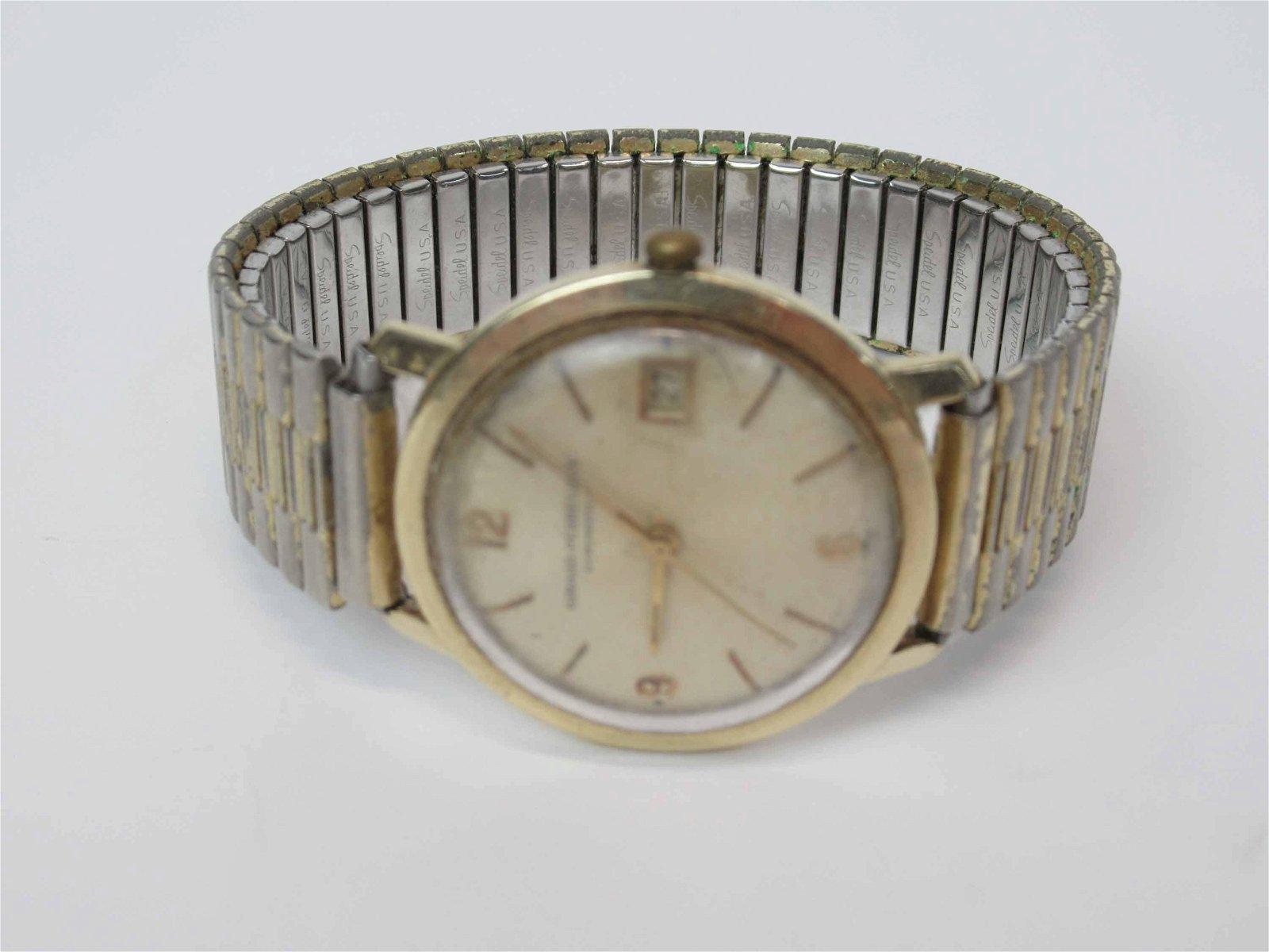 Vintage 14K Girard Perregaux Gyromatic WristWatch